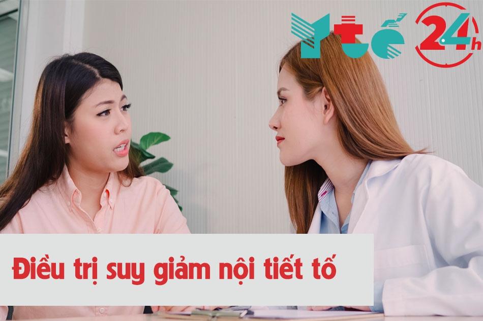 Các phương pháp điều trị suy giảm nội tiết tố