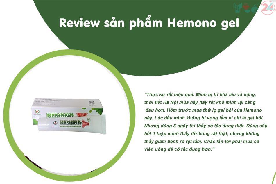 Review Hemono Gel
