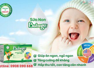 Sữa non thảo dược đến từ Hoa Ky Babego