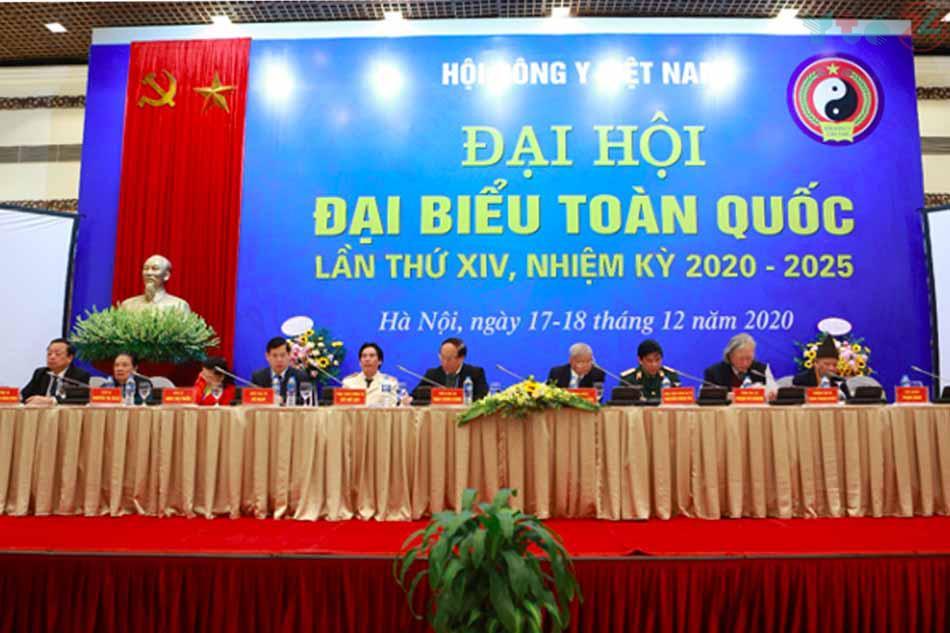 Cao Vị Nhân được giới thiệu tại Đại hội đại biểu Hội Đông Y Việt Nam