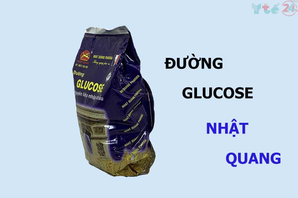 Lưu ý khi dùng đường glucose Nhật Quang