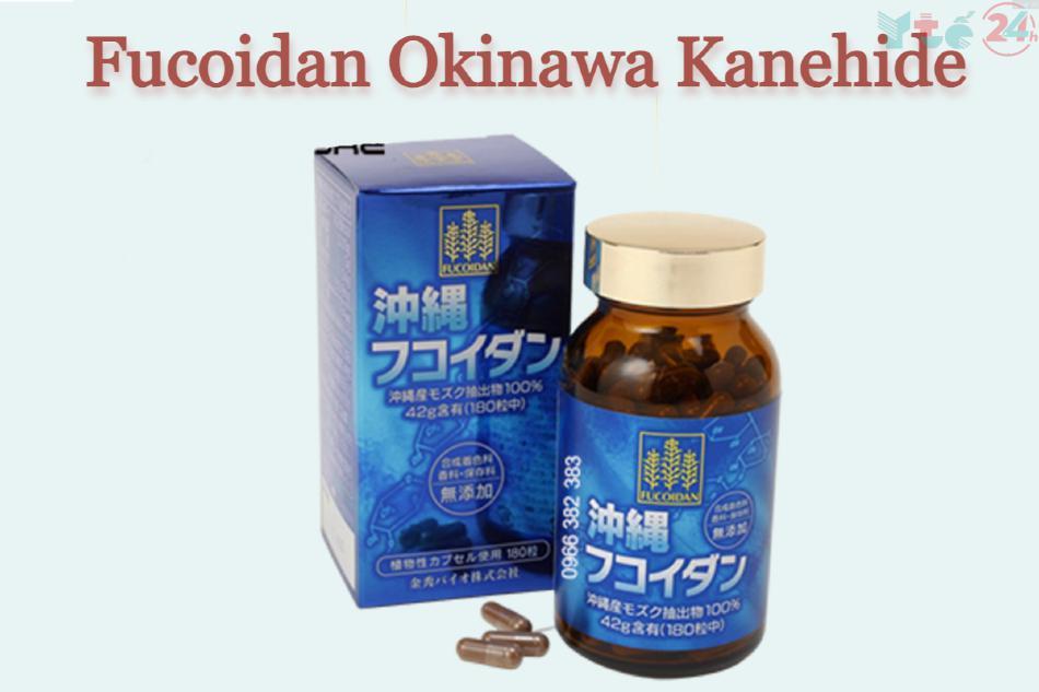 Fucoidan Okinawa Kanehide màu xanh 180 viên