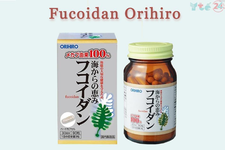 Fucoidan Orihiro được chiết xuất và tinh chế từ Tảo Wakame Mekabu