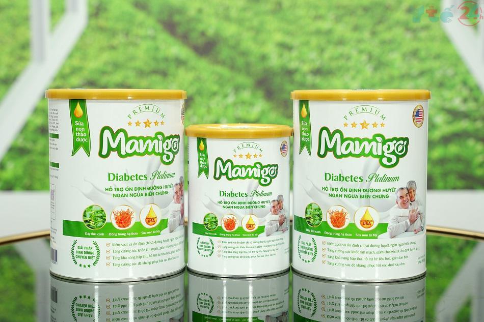 Sữa tiểu đường thảo dược đầu tiên trên thị trường