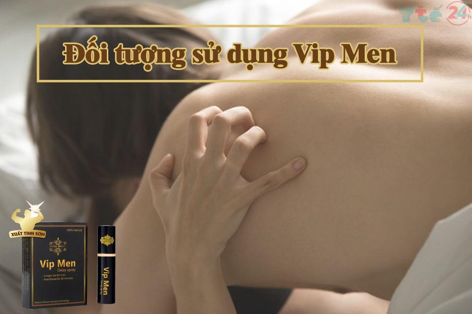 Đối tượng sử dụng Vip Men