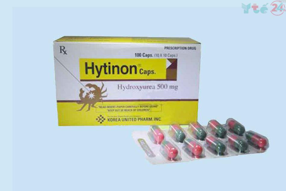 Chống chỉ định sử dụng Hytinon