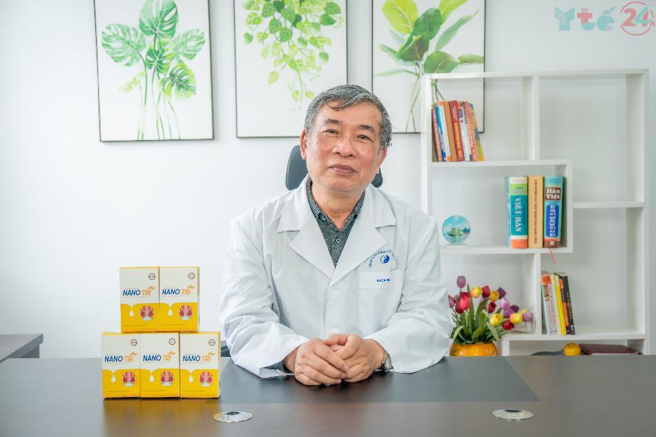 Bác sĩ Hoàng Đình Lân (Phó chủ tịch Hội Hậu môn - Trực tràng)