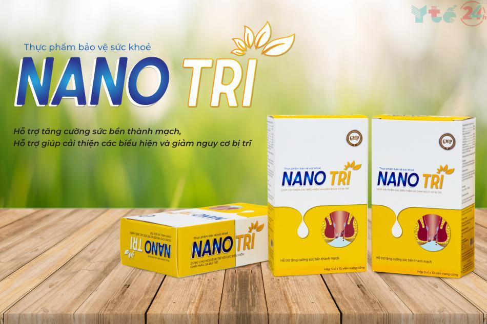 Nano Trĩ là thực phẩm bảo vệ sức khỏe được nghiên cứu và sản xuất nhằm đem lại hướng đi mới trong điều trị bệnh trĩ.