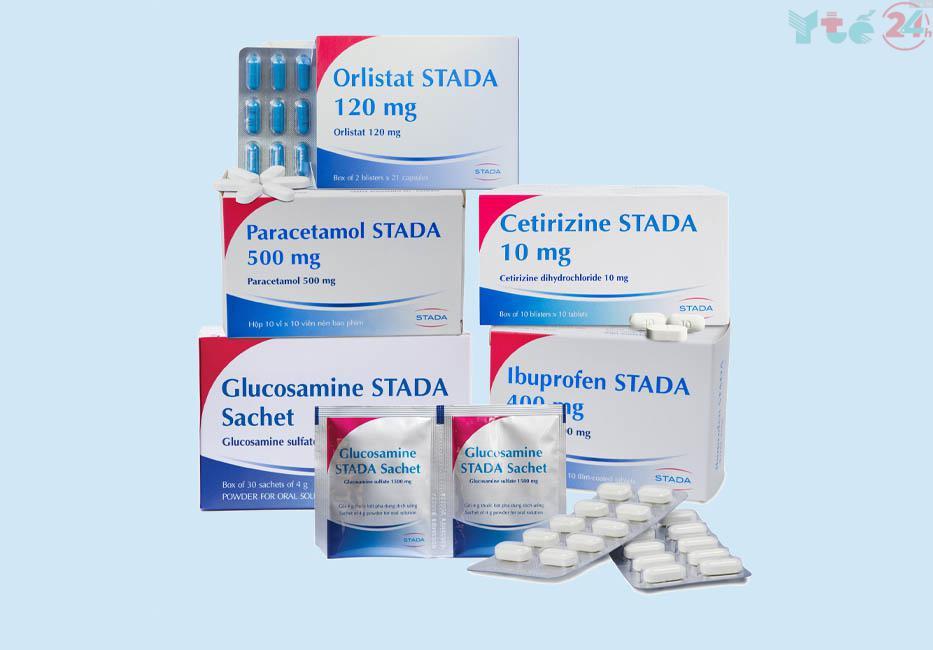 Một số sản phẩm của STADA