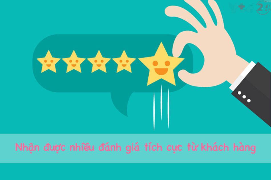 Nhiều phản hồi tích cực từ khách hàng