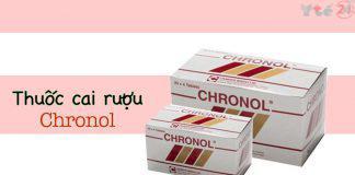 Hình ảnh thuốc cai rượu Chronol