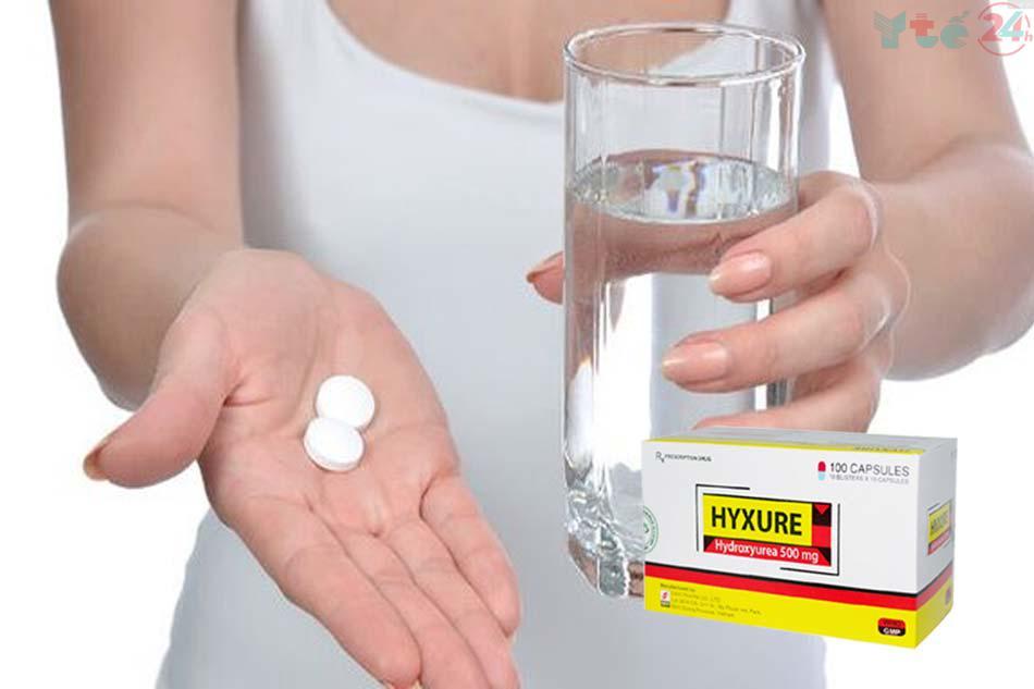 Cách dùng - Liều dùng Hyxure 500mg